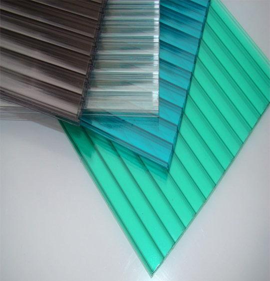các màu tấm lợp polycarbonate solarlite