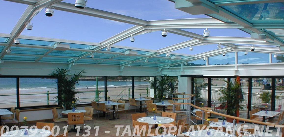 mái nhà lấy sáng thông minh poly đặc solarflat