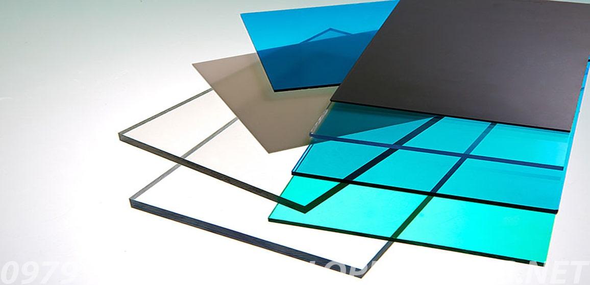 tấm lợp nhựa lấy sáng thông minh polycarbonate dạng đặc ruột solarflat ảnh 5