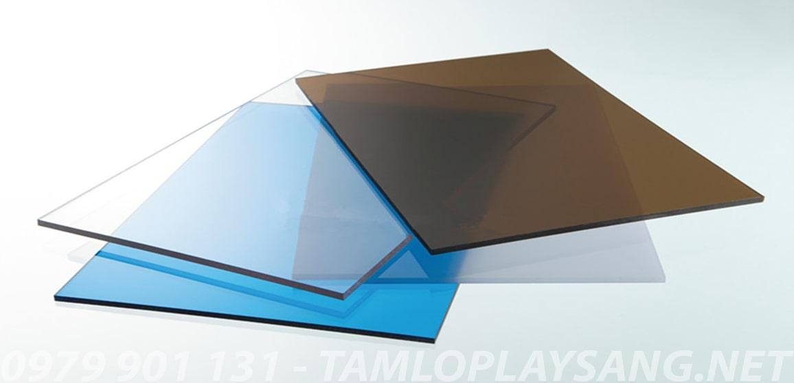 tấm lợp nhựa lấy sáng thông minh polycarbonate dạng đặc ruột solarflat ảnh 6