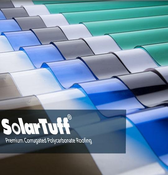 tôn lợp lấy sáng dạng sóng tròn solartuff